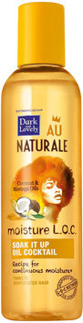 Dark and Lovely® Au Naturale Moisture L.O.C. Soak It Up Oil Cocktail for All Hair Types 4.0 fl. oz. Bottle