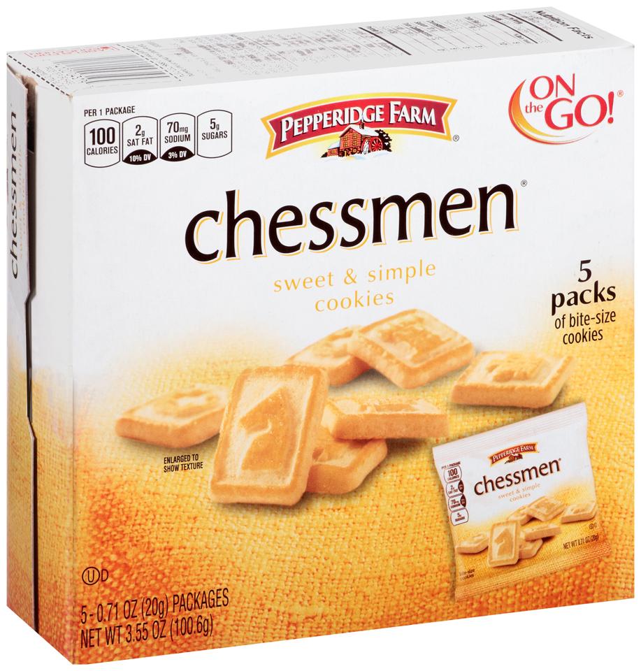 Pepperidge Farm® Chessmen Sweet & Simple Cookies