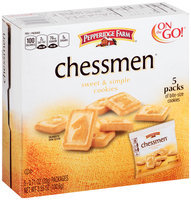 Pepperidge Farm® Chessmen® Sweet & Simple Cookies 5-0.71 oz. Packs