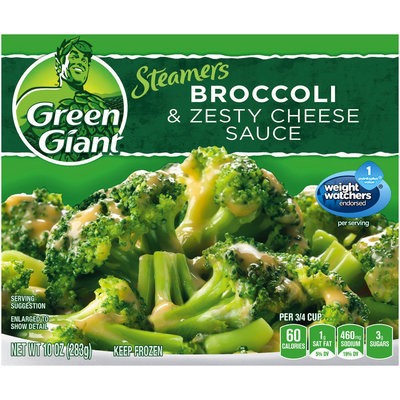 Green Giant® Steamers Broccoli & Zesty Cheese Sauce 10 oz. Box