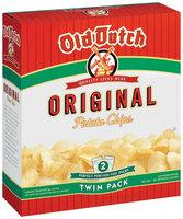 Old Dutch Original Twin Pack Potato Chips   Box