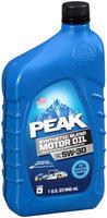 Peak® SAE 5W-30 Synthetic Blend Motor Oil 1 qt. Bottle