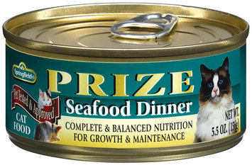 Springfield Prize Seafood Dinner Cat Food 5.5 Oz Can