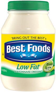 Best Foods Low Fat Mayonnaise Dressing Plastic Jar
