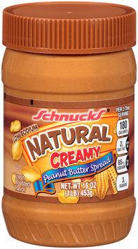 Schnucks® Natural Creamy Peanut Butter Spread 16 oz. Plastic Jar
