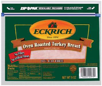 Eckrich Turkey 8 Oz 4x6 Turkey - 4x6