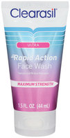 Clearasil® Ultra Rapid Action Face Wash 1.5 fl. oz. Tube