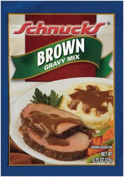 Schnucks Brown Gravy Mix .75 Oz Packet