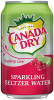 Canada Dry Cranberry Lime Sparkling Seltzer Water