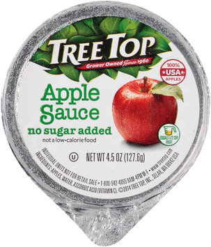 Tree Top® No Sugar Added Applesauce 4.5 oz. Cup