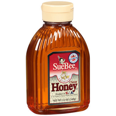 Sue Bee® Premium Clover Honey 12 oz. Squeeze Bottle
