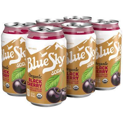 Blue Sky® Organic Black Cherry Soda 6-12 fl. oz. Cans