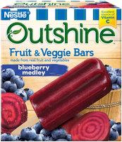 Nestlé® OUTSHINE® Fruit & Veggie Bars, Blueberry Medley 6 ct Box
