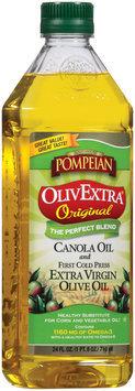Pompeian Olivextra Original Extra Virgin Olive Oil 24 Oz Plastic Bottle