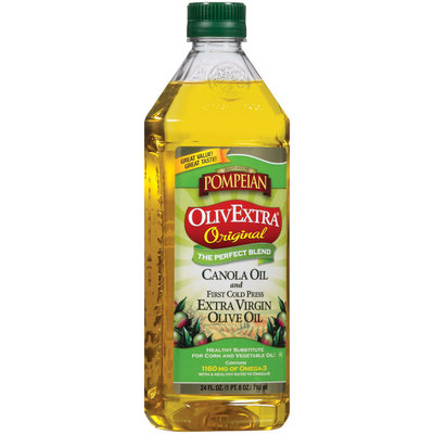 Pompeian Olivextra Original Extra Virgin Olive Oil 24 Oz Plastic Bottle