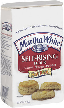 Martha White Self-Rising Enriched Bleached Pre-Sifted W/Hot Rize Flour