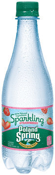 Poland Spring® Sparkling Strawberry Natural Spring Water