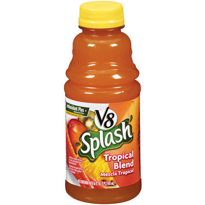 V8® Splash Tropical Blend 16 fl oz Plastic Bottle