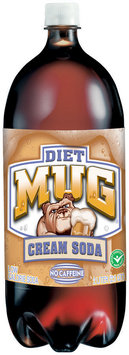 Mug® Diet Cream Soda 2L Plastic Bottle