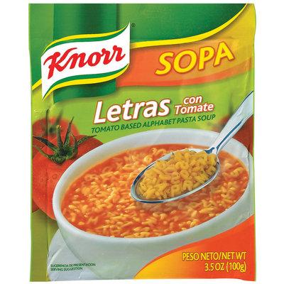 Knorr® Sopa Letras Tomato Pasta Soup