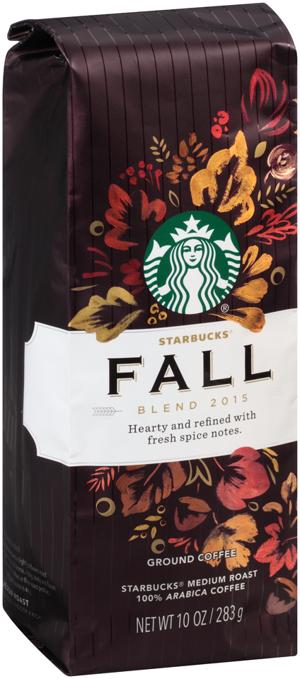 Starbucks® Fall Blend 2015 Medium Roast Ground Coffee 10 oz. Bag