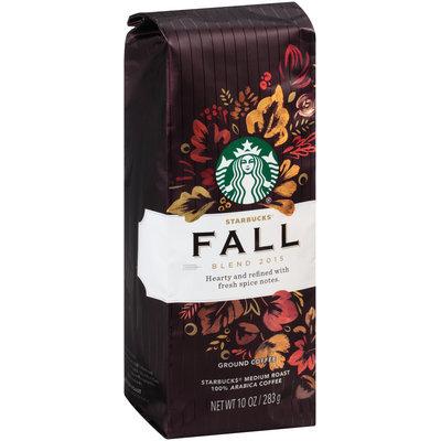 Starbucks® Fall Blend 2015 Medium Roast Ground Coffee 10 oz. Bag