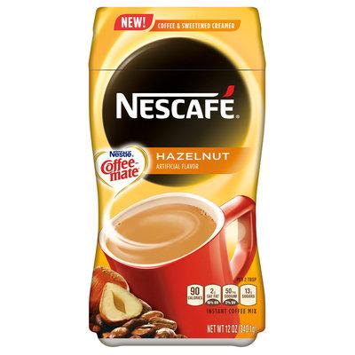 NESCAFÉ Hazelnut With Coffee Mate Coffee Creamer Combo