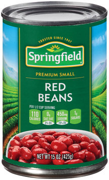 Springfield® Small Red Beans 15 oz. Can