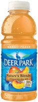 Deer Park Nature's Blend Spring Water & Real Juice Mango-Peach 20 fl. oz. Plastic Bottle