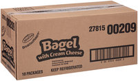 Armour® Breakfast Makers® Bagel with Cream Cheese 2.2 oz. Tray