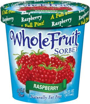 Whole Fruit® Raspberry Sorbet 16 oz. Tub