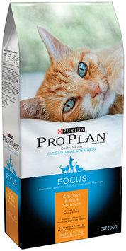 Purina Pro Plan Focus Adult 11+ Chicken & Rice Formula Cat Food 3.5 lb. Bag