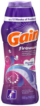 Fireworks Gain Fireworks Moonlight Breeze Laundry Scent Beads 31 loads 19.5 Oz