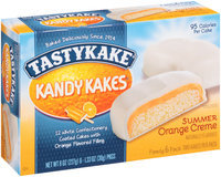 Tastykake® Kandy Kakes® Summer Orange Creme Snack Cakes