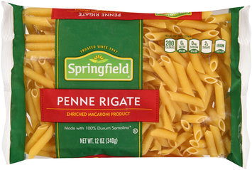 Springfield® Penne Rigate 12 oz. Bag