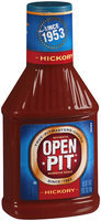 Authentic Open Pit Hickory Barbecue Sauce 18 oz Squeeze Bottle