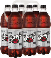 BARQ'S 24 fl oz Root Beer 6 PK PLASTIC BOTTLES