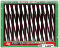 Hershey's Holiday Candy Canes in Mint Chocolate Flavor 6.3 oz. Box