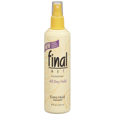 Final Net Extra Hold Hairspray 8 Oz Spray Bottle