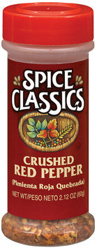 Spice Classics Crushed Red Pepper 2.12 Oz Shaker