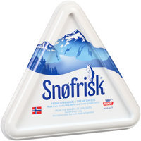 Snofrisk® Fresh Spreadable Cream Cheese 4.4 oz.
