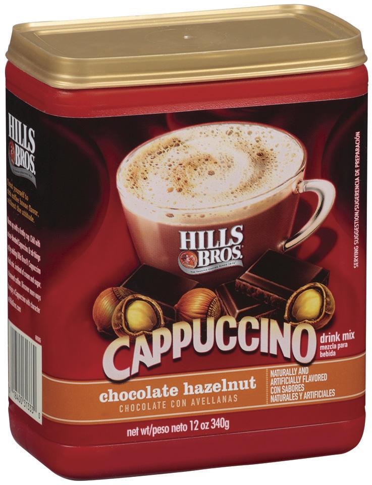 Hills Bros Chocolate Hazelnut Cappuccino