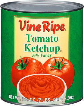 Vine Ripe® 33% Fancy Tomato Ketchup 115 oz. Can