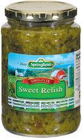 Springfield Original Sweet Relish 24 Oz Jar