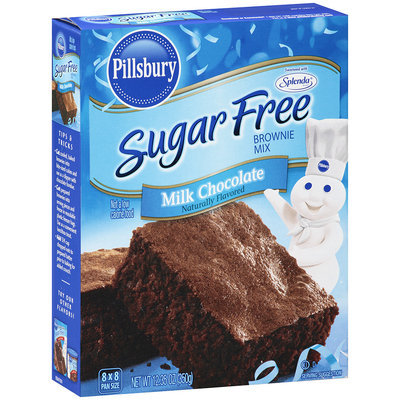 Pillsbury® Sugar Free Milk Chocolate Brownie Mix 12.35 oz