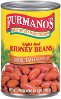 Furmano's Light Red Kidney Beans 15.5 Oz Can
