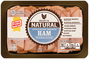 Oscar Mayer Natural Applewood Smoked Ham Cold Cuts 16 oz. Tray
