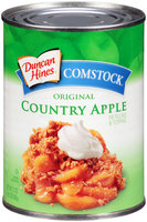 Duncan Hines® Comstock® Original Country Apple Pie Filling & Topping 21 oz. Can