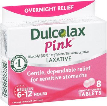 Dulcolax Pink® Laxative Tablets 8 ct Box