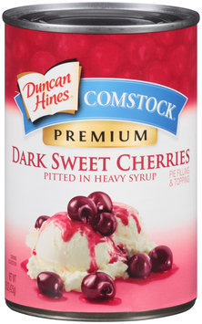 Duncan Hines® Comstock® Dark Sweet Cherries Pie Filling & Topping 15 oz. Can